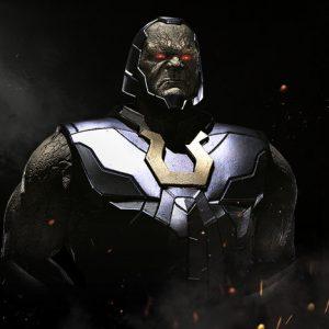 Injustice 2 theme on windows 10 darkseid
