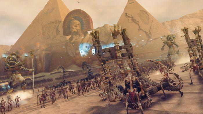 Egyptian skeletons race