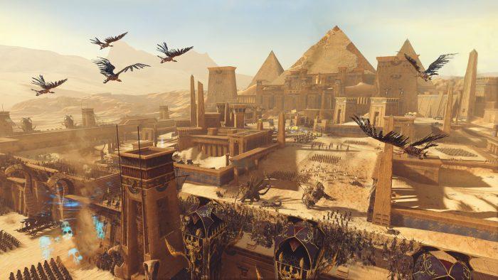 Pyramids city building