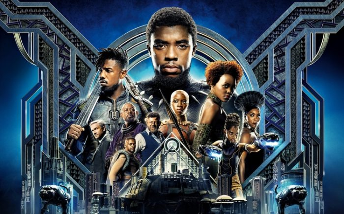 Black panther 2018 movie poster wallpaper