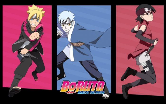 Naruto mitsuki sarada wallpaper