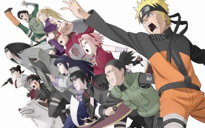 Naruto shippuden characters wallpaper
