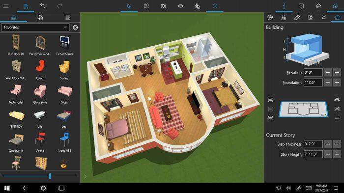 Live home 3d pro screenshot