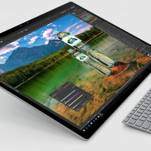 Touch screen affinity photo