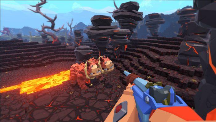 Pixark gameplay graphics
