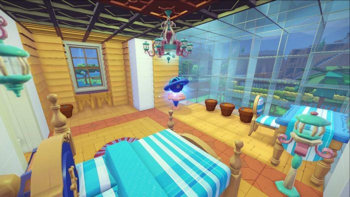 Create inside house