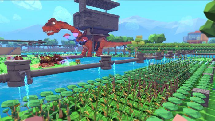 Dinosaur in game