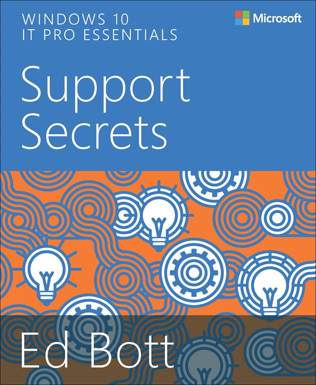 Windows 10 Support Secrets Book