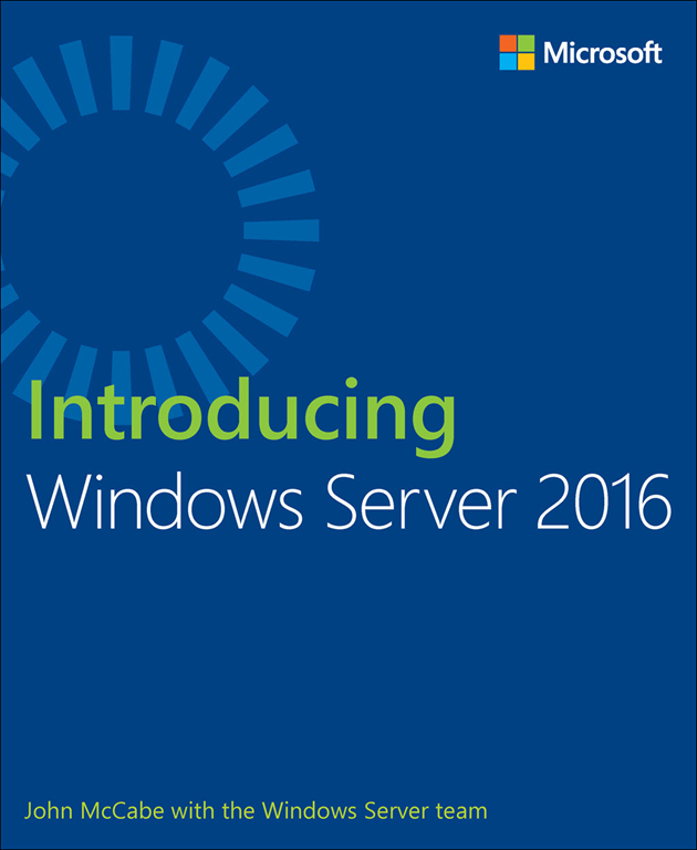 Windows Server 2016 Book Cover