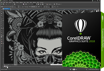 CorelDraw 2018 Official Logo