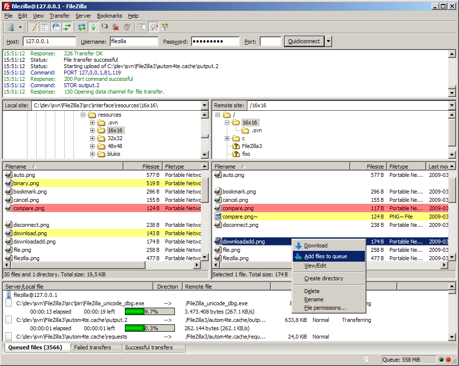 Schedule ftp download filezilla.