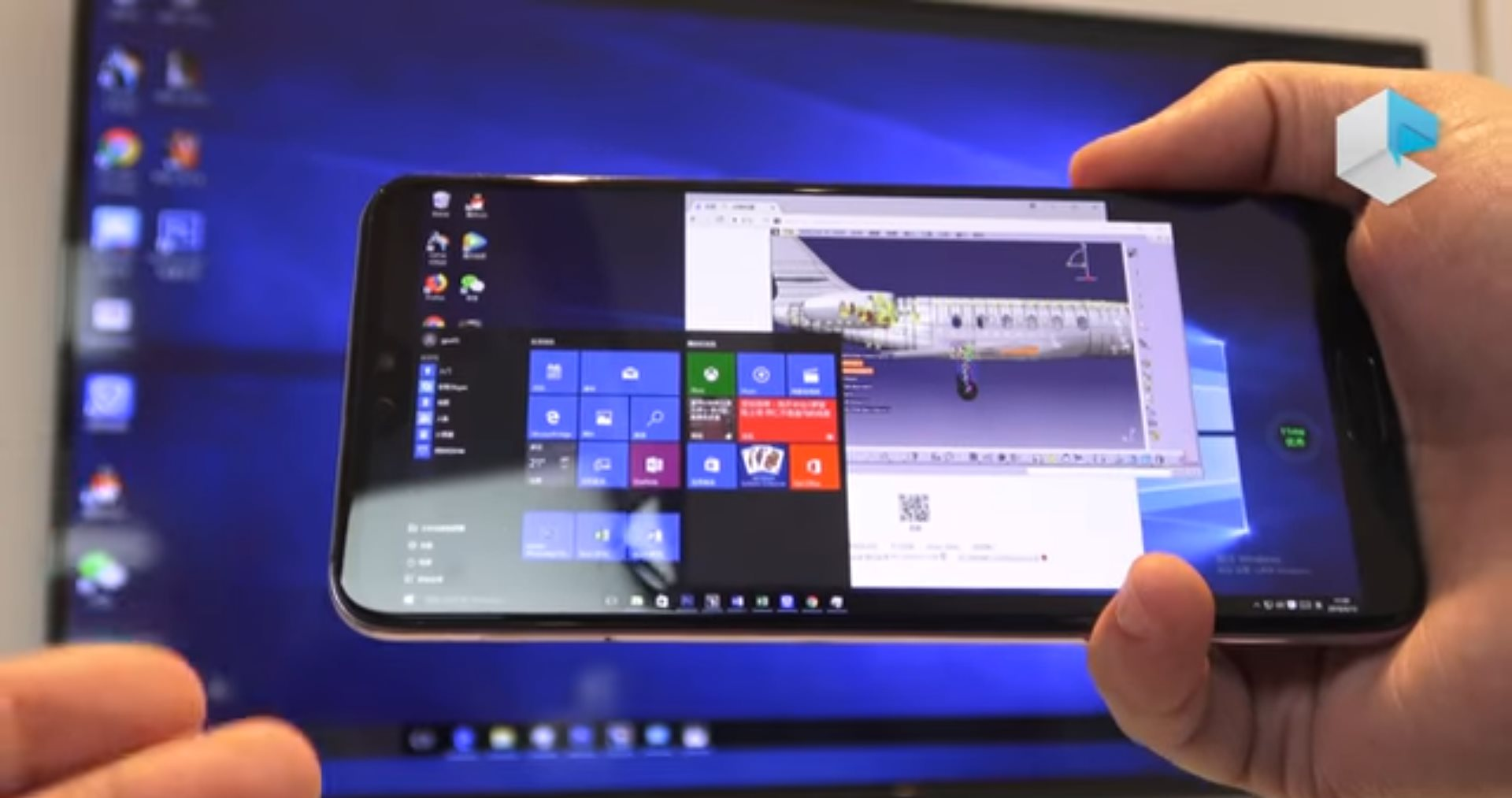 Android 10 Wallpaper: Full Windows 10 On Android Made Possible By Huawei