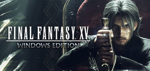 Final fantasy xv game official logo