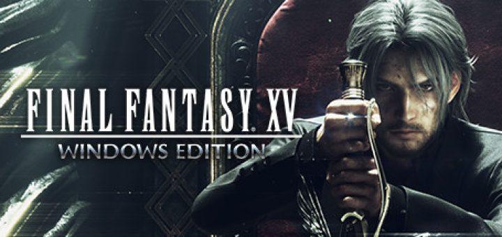 Final fantasy xv game official logo