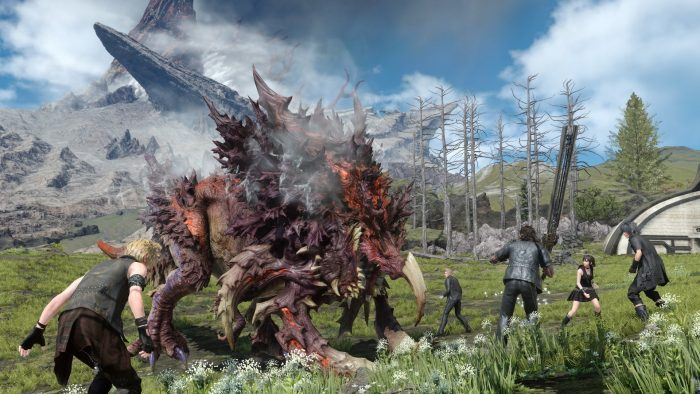 Final fantasy xv gameplay graphics
