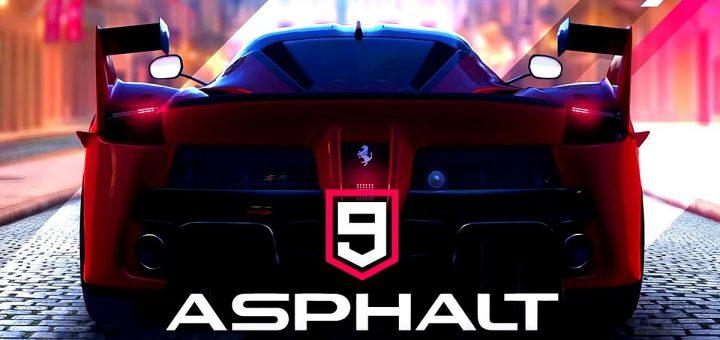 Asphalt 9 legends official logo