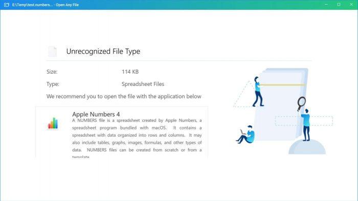 Openanyfiles app demo