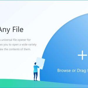 Open Any File App Logo