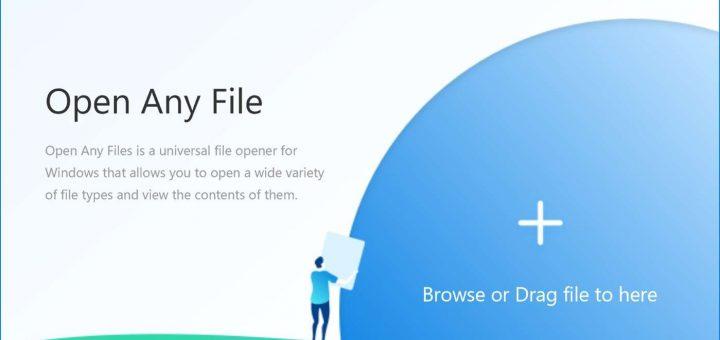 Openanyfiles app logo