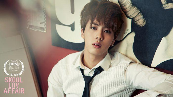 Jin bts face