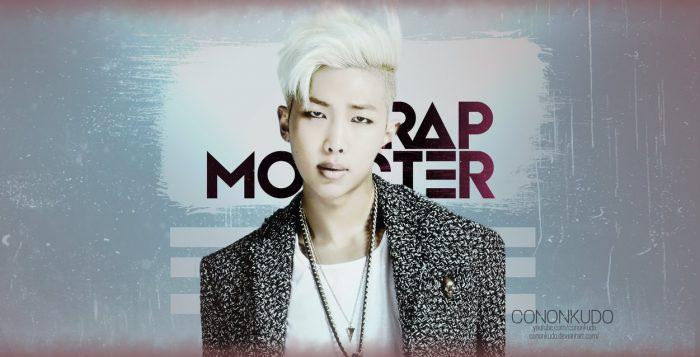 Rapmonster hair wallpaper