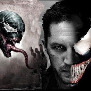 Tom hardy as venom poster