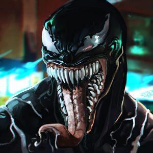Venom cartoon 2018