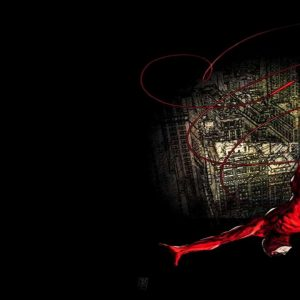 Daredevil jumping background