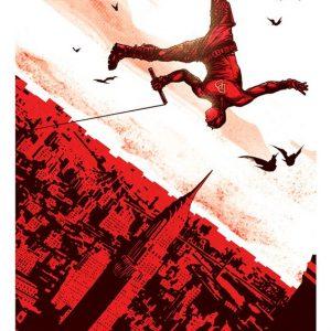 Daredevil red color wallpaper
