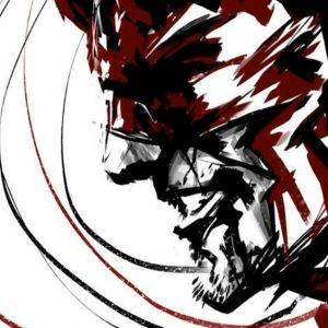 Daredevil smiling horned mask