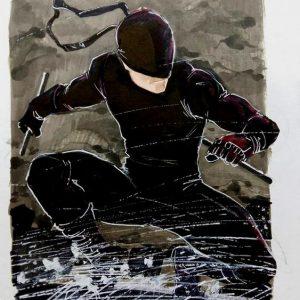 Daredevil black mask