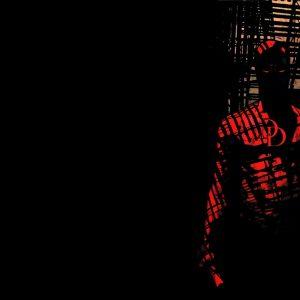 Daredevil black red background