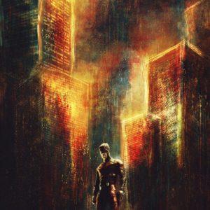 Daredevil city burning