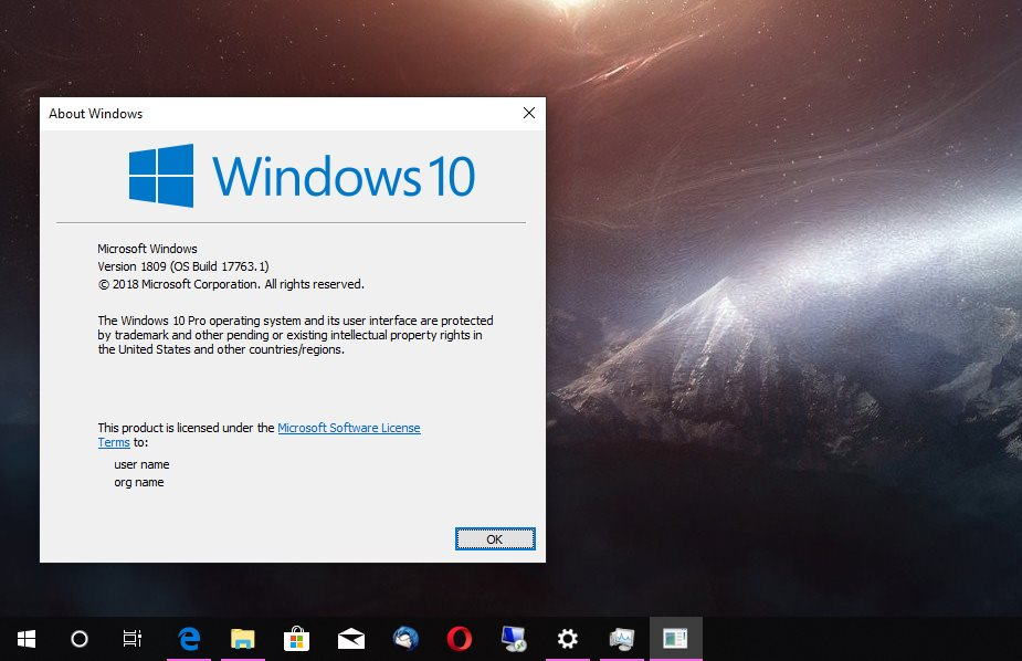 Have You Already Updated to Windows 10 Version 1809