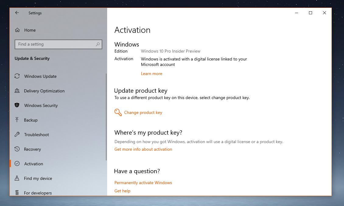 windows 10 download and product key