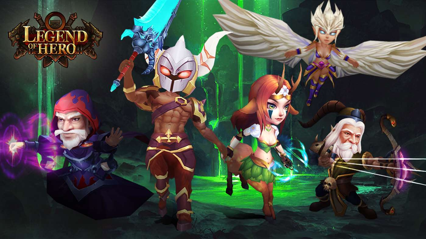 Legend of Hero Game Cover