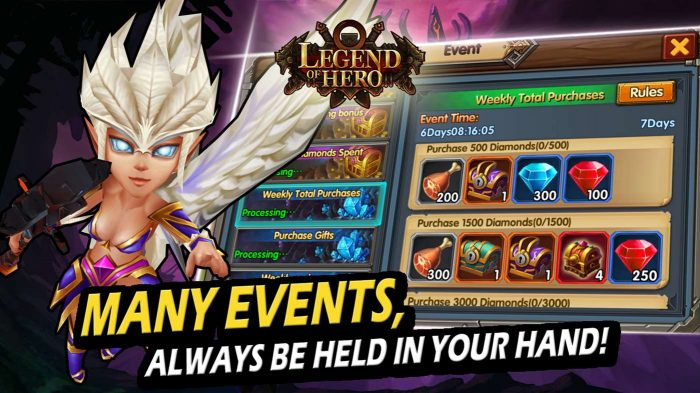 Play game events