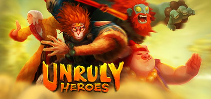 Unruly heroes official logo