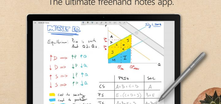 Penbook screenshot first
