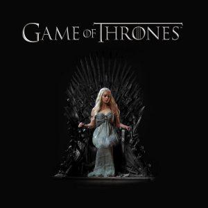 Daenerys targaryen on chair hd