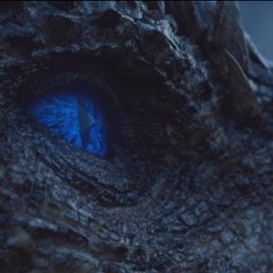Eye of dragon wallpaper