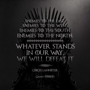 Game of thrones quotes wallpaper