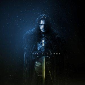 Jon snow game of thrones season 8 background