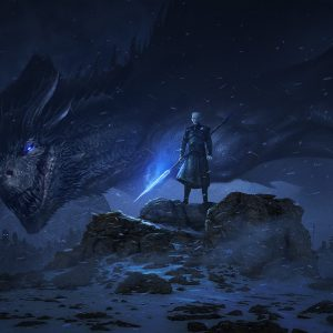Night king cool background