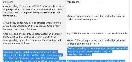 Windows 10 Cumulative Update KB4489868 Breaks Down a Linux Feature