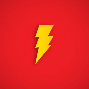 Shazam logo in hd background