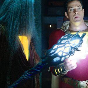 Shazam with captain marvel