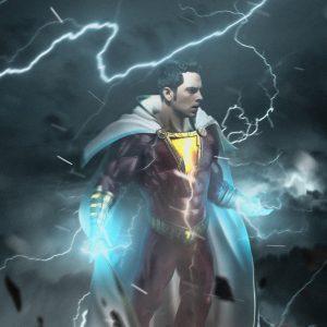 Zachary levi as captain marvel background hd