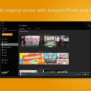 Amazon prime audible