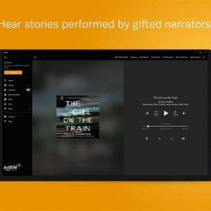 Hear stories audible